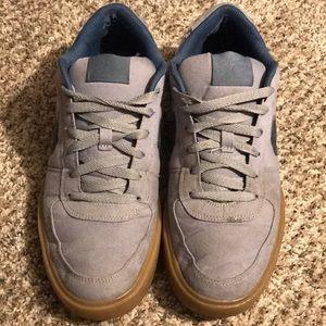 Nike SB 6.0 2011 Gray & Navy Canvas Shoes - 9.5